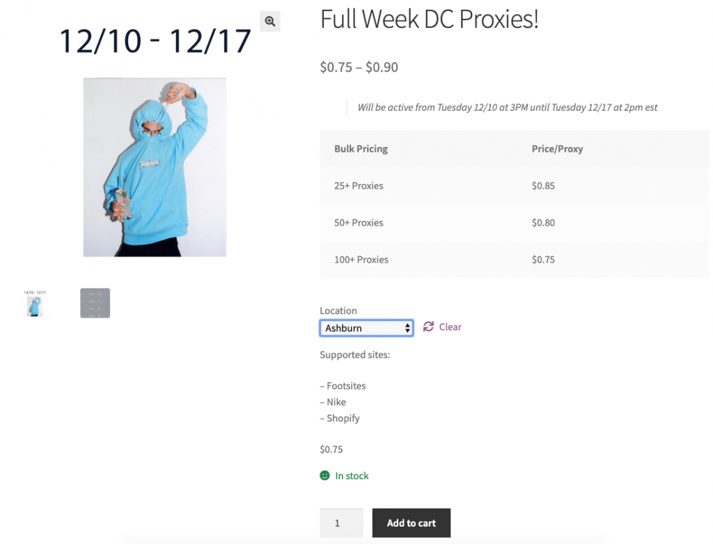 brazykicks-dc-weekly-pricing