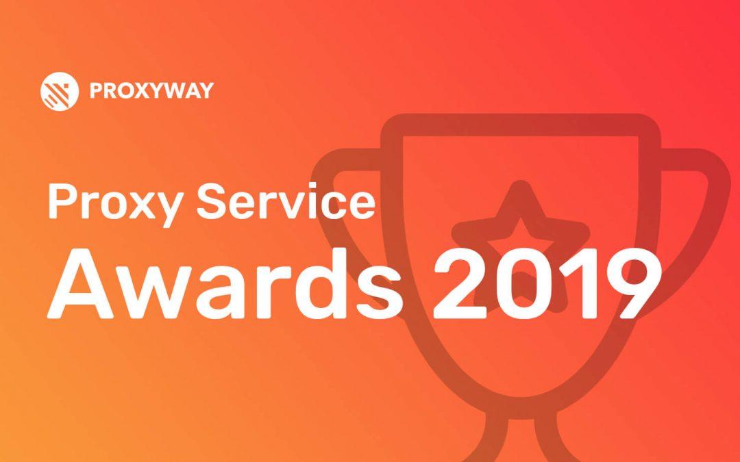 Proxy Service Awards 2019