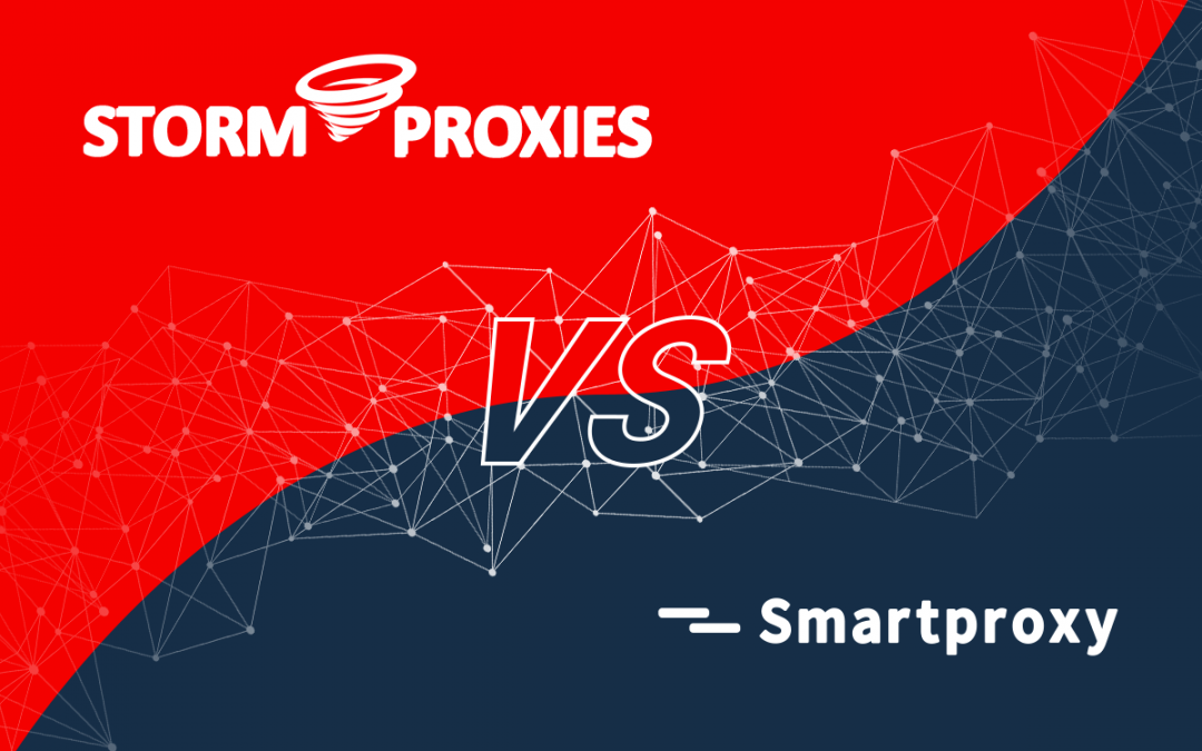Storm Proxies vs. Smartproxy